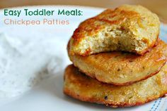 Toddler meals 181551428707447281 - Easy Toddler Meal: Chickpea Patties – SavvyMom Source by grettan Easy Toddler Meals, Toddler Lunches, Kids Meals, Toddler Food, Toddler Recipes, Baby Meals, Kids Cooking Recipes, Baby Food Recipes, Snack Recipes