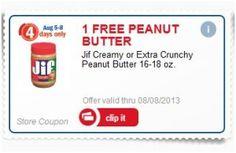 Meijer mPerks: FREE Jif Peanut Butter w/ Code | http://www.amittenfullofsavings.com/meijer-mperks-free-jif-peanut-butter-w-code/