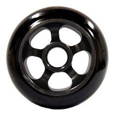Lucky Orbit Pro Scooter Wheel - Black/Black 100mm