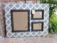 Large Collage Distressed Picture Frame 11x14 and by ShirleyFrames, $195.00
