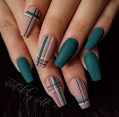 art easy garden decor nail Cute Nail Designs for Every Nail – Nail Art Ideas to Try. No matter the occasion, try one of the 50 cute nail designs below 💅 1 of 50 Nail Art Design für den Herbst # fashionminis … – Nails – … Summer Acrylic Nails, Best Acrylic Nails, Matte Nail Art, Summer Nails, Plaid Nails, Swag Nails, Plaid Nail Art, Striped Nails, Fall Nail Designs