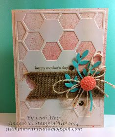 Stampin' With Leah: Mothers Day Card. Stampin' Up!