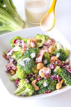 Classic Broccoli Salad   ChefJulieYoon.com