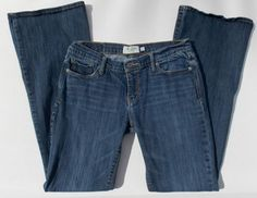 ABERCROMBIE & FITCH Stretch Dark Wash Madision Jeans Size 4 Short 4S Stretch #AbercrombieFitch #BootCut  SOLD