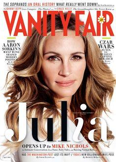 .Julia Roberts @ Vanity Fair April '12.