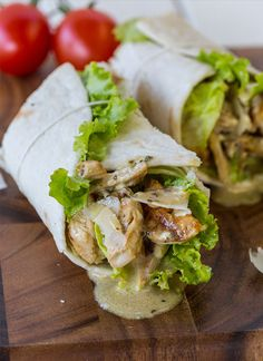 14 Salad Wraps to Pack for Lunch via Brit + Co.