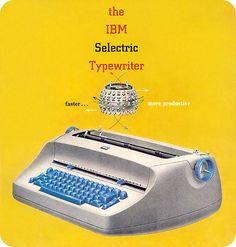~~IBM Selectric Typewriter~~