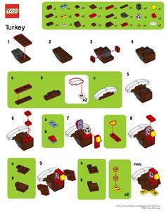 Mini Brick Spot: LEGO Mini Turkey