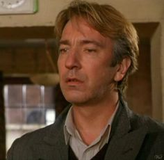 """from """"Awfully Big Adventure"""" ar_daily: Alan Rickman Always, Movie Reels, Film Icon, Julie Andrews, Ares, Severus Snape, Beautiful Men, Beautiful Person, Beautiful People"""