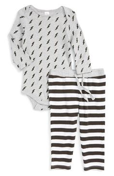 Nordstrom Baby Nordstrom Baby Long Sleeve Bodysuit & Pants Set (Baby) available at #Nordstrom