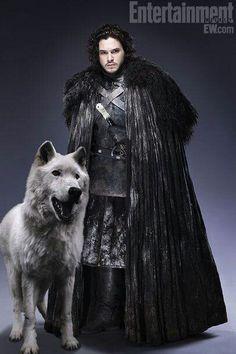John Snow  & wolf costume