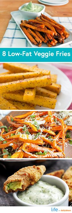 8 Recipes for Healthy Homemade French Fries | #DailyBurn #recipes