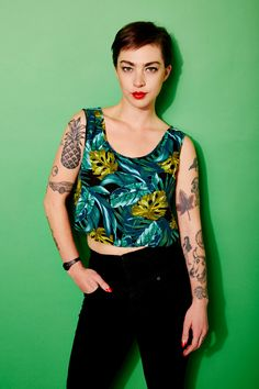 """NYC's Coolest Tattoos — 18 People Who Make Ink Look Chic #refinery29  http://www.refinery29.com/best-tattoos#slide1  Anastasia Browning, bartender  """"I have a variety of tattoos ranging from traditional to obscure and quite a few stick-and-pokes. I have around 30, so describing each one would be a bit extensive. When people ask me to describe my tattoos, I'm like, 'Do you have a few hours?'"""""""