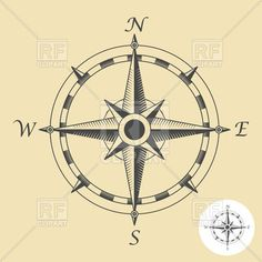 Compass rose, 1091, download royalty-free vector clipart (EPS)