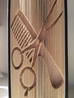 To complete this fold you will need a book with at least 538 pages (extra to leave a few blank at the start and end of the book. It is based on a book of 21 cms in height and is the cut and fold method. Any books made using this pattern may be sold but please do not sell or share this