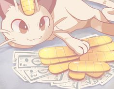 enecoo:   This is the paydaymeowth, reblog in the... | The Original Pokemon Community!