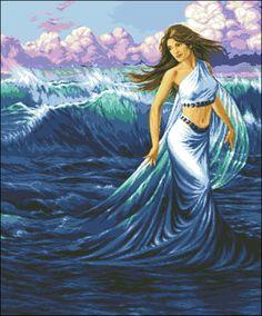 """Сачать схему вышивки """"Sea enchantment"""""""