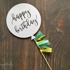 All items handmade by CynDetails: Mini balloon and tassel cake topper. - All items handmade by CynDetails: Mini balloon and tassel cake topper. Diy Birthday Banner, Birthday Cake Toppers, Cupcake Toppers, Happy Birthday, Cake Bunting, Cake Banner, Diy Cake Topper, Mini Balloons, Diy Party