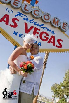 Still the #1 most popular place to take Vegas wedding photos!