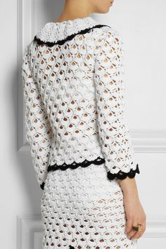 Sister by Sibling | Crocheted cotton jacket | NET-A-PORTER.COM