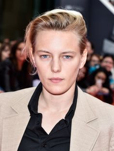 Erika Linder was born on May 11, 1990 in Stockholm, Sweden. She is an actress, known for Below Her Mouth (2016). Gender fluid.