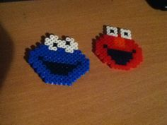 Cookie monster and elmo C: