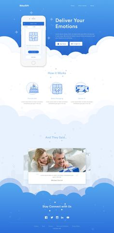 Birthday Gift Apps Landing Page – SiteUp