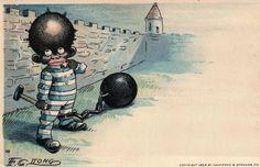 Racist Amerikkkan postcards (1905)