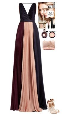 """""""Event"""" by eliza-redkina ❤ liked on Polyvore featuring Roksanda, Sophia Webster, Chanel, MAC Cosmetics, Marc Jacobs, Viktor & Rolf, Aspinal of London, outfit, like and look"""