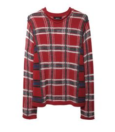Rock On  - Zucca plaid sweater