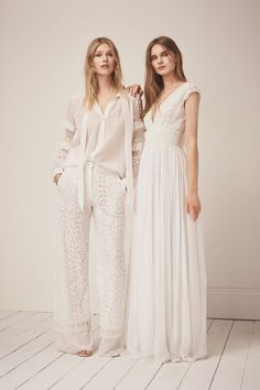 93504253c71 EXCLUSIVE  The High-Street Bridalwear Launch Inspired By Bianca Jagger And  Kate Moss. High Street Wedding DressesWedding ...