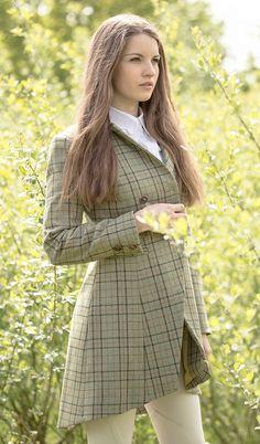 Great Scot Austen Riding Frock Coat Strathisla tweed