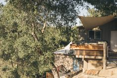Tucked away in the raw golden hills of Topanga Canyon, 45 minutes from the stir of Los Angeles, is the tiny four-room home of Scarlett and Nevin Pontious. They live with their two-year-old daughter, Clementine, in a tranquil space that kindles creativity.