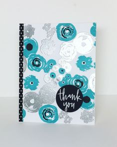 Hey guys!     I am so excited and honored to be one of three guest designers this month for C oncord & 9th ! Is that awesome or what?!   ... Welcome June, Flower Stamp, Flower Cards, Concord And 9th, Embossed Cards, Elfen, Simon Says Stamp, Concorde, Thank You Cards