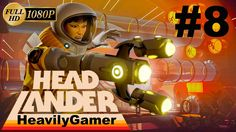 Headlander Gameplay Walkthrough (PC) Part 8:Project Methuselah/Spider Sh...