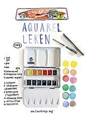 How-to watercoloring by Deborah van der Schaaf, in Flow Do it Yourself