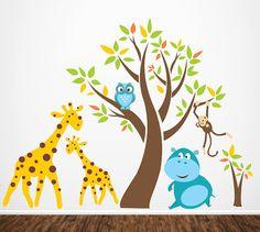 Children Wall Decal Wall Sticker Baby Nursery von ArtHomeDecals, $165.00