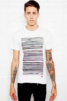 MNKR Records Tee in White