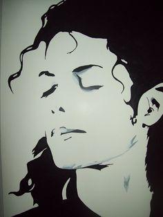 Michael Jackson Portrait by tresbigdog on DeviantArt