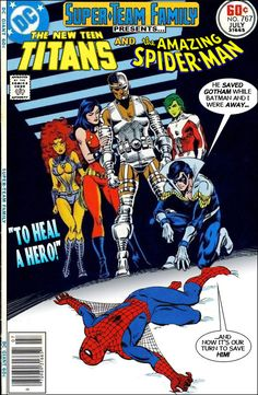Super-Team Family: The Lost Issues!: The New Teen Titans and Spider-Man