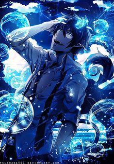 anime demonios Dark Anime, Hinata, Humanoid Dragon, Sea Of Stars, Blue Exorcist Anime, Galactic Heroes, Rin Okumura, Kimi No Na Wa, Ciel Phantomhive