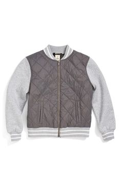 Tucker   Tate 'Isaac' Quilted Bomber Jacket $56.00