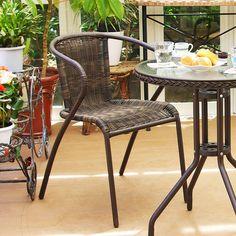 オシャレなお庭やベランダにこだわりたい方必見!ラタン調ガーデンチェアで安らぎの癒し空間を! Outdoor Furniture Sets, Outdoor Decor, Garden Chairs, Home Decor, Lawn Chairs, Decoration Home, Room Decor, Home Interior Design, Outdoor Chairs