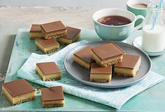 This 5-ingredient caramel slice recipe is ideal for having on hand for after-school snacks, when having a cup of tea, or even to take to work or bake sales.