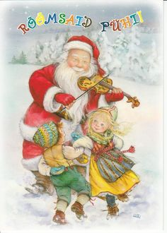 New single Christmas card by Lisi Martin