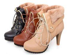 Women's Elegant High Heel Boots