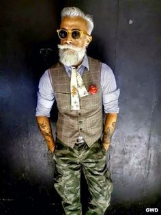 Today news: When Old People Dress Like Hipsters (21 Pics)