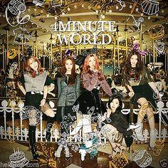 4MINUTE - 4Minute World (5th Mini Album) CD + GIFT
