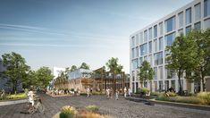 Atelier PRO en Vakwerk Architecten ontwerpen Universitair Centrum Psychiatrie in Groningen - architectenweb.nl