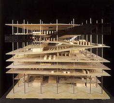 Biblioteca Jussieu / Rem Koolhaas